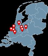 Onze locaties op de kaart